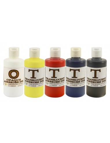 Translucent Ink Kit 5 x 250ml