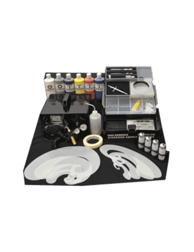New Zealand Venturi Airbrush January Special Kit with Free Airbrush