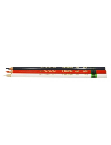 STABILO CHALK PENCIL 3 Pack