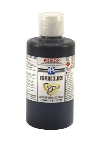 Deltron Basecoat Black 250ml