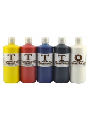 Translucent Ink Kit 5 x 500ml