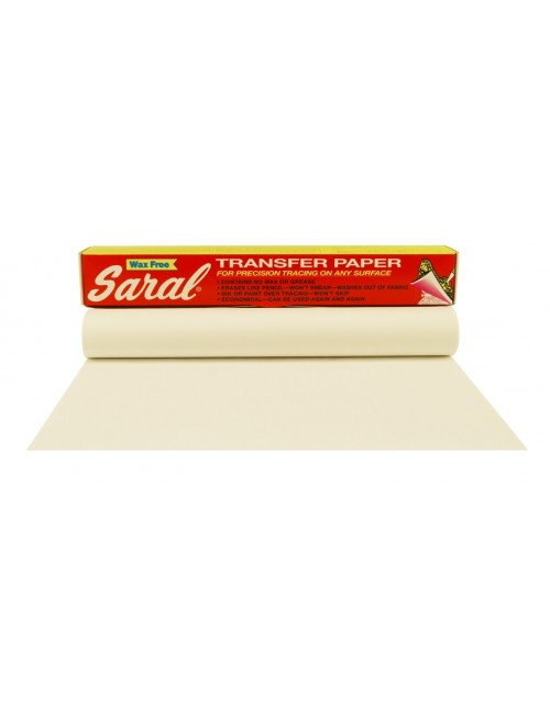 Saral Paper Roll White