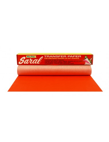 SARAL PAPER RED