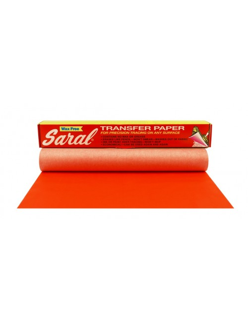 Saral Paper Roll Red