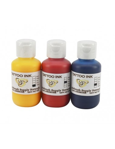 Tattoo Ink Kit 3 x 125ml