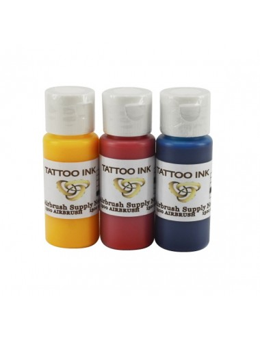 Tattoo Ink Kit 3 x 60ml
