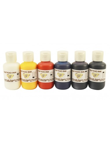Tattoo Ink Kit 6 x 125ml