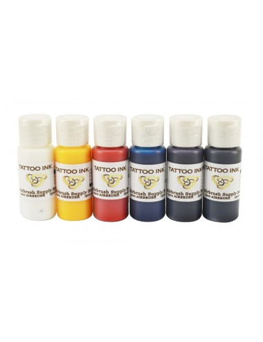 Tattoo Ink Kit 6 x 60ml